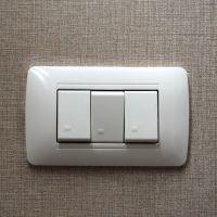 Tomas de corriente e interruptores